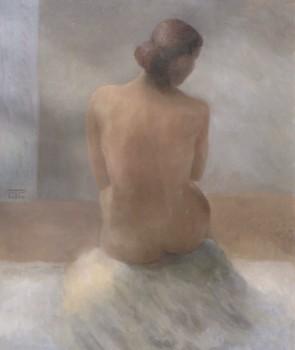 Classique. Huile sur toile de Dominique Trémois Chazot
