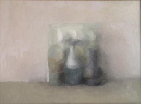 Emotion. Huile sur toile marouflée de Dominique Trémois Chazot.