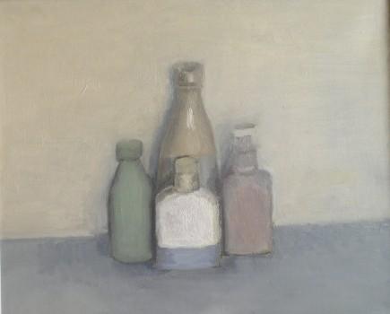 Giorgio. Huile sur toile de Dominique Trémois Chazot.
