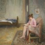 Solitude. Huile sur toile de Dominique Trémois Chazot