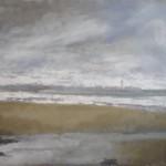 Le phare des baleines. Huile sur toile de Dominique Trémois Chazot.